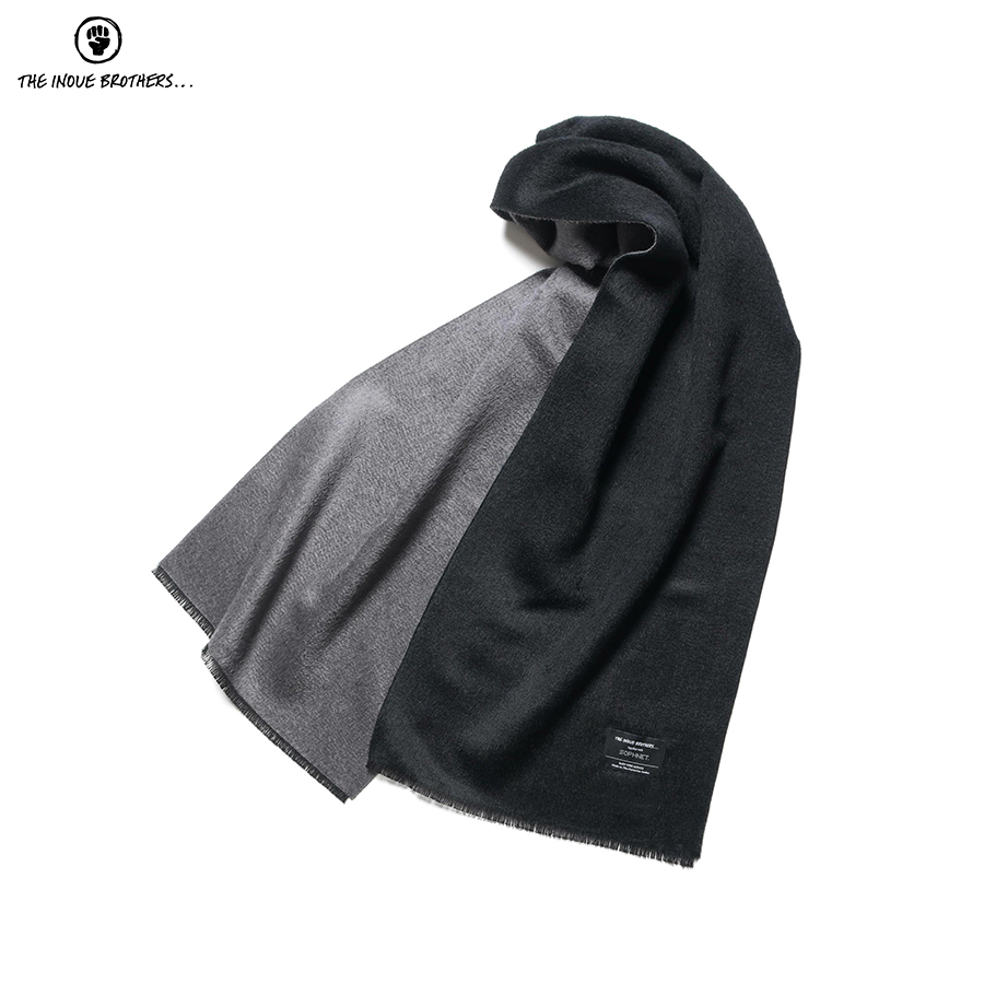 THE INOUE BROTHERS REVERSIBLE SCARF ¥20,000 + TAX