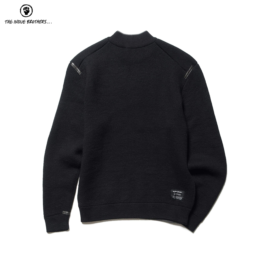 THE INOUE BROTHERS MOCK NECK KNIT ¥48,000 + TAX