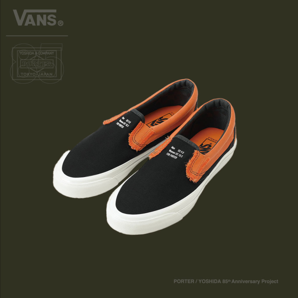 "VANS ""Exclusive SLIP-ON"" ¥12,000+TAX"