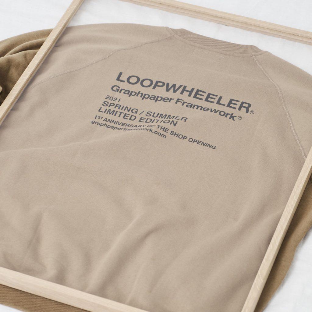 LOOPWHEELER for Graphpaper
