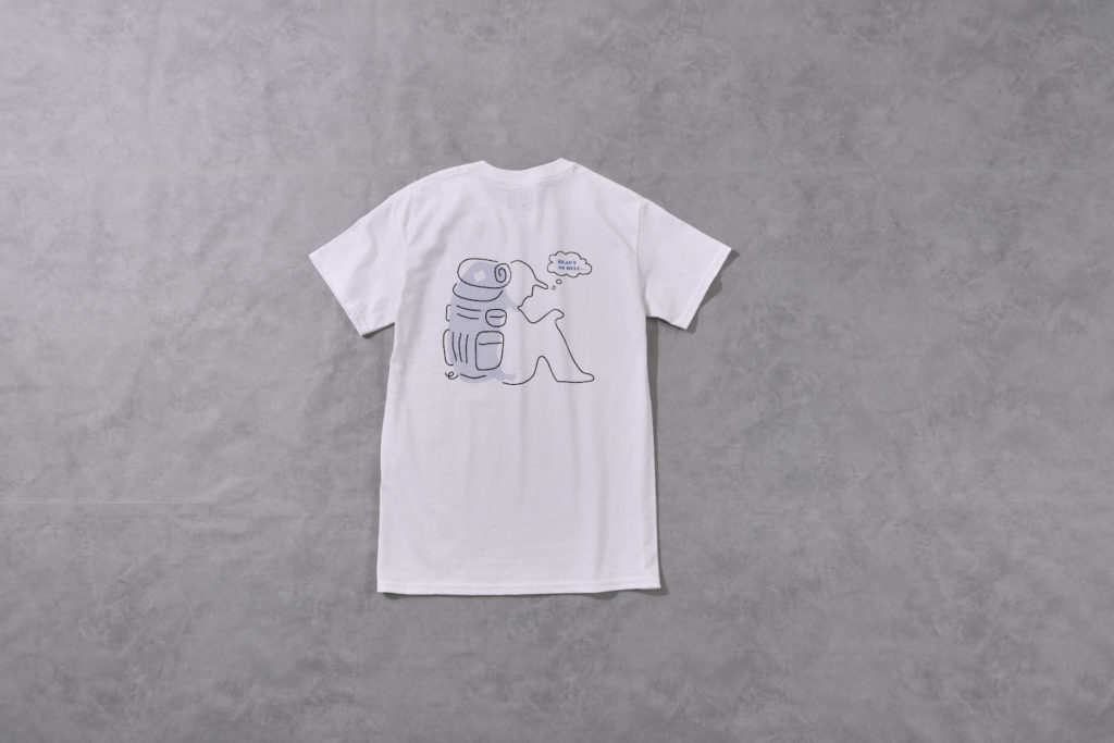 BAMBOO SHOOTS バンブーシュート バックパッカー Tシャツ