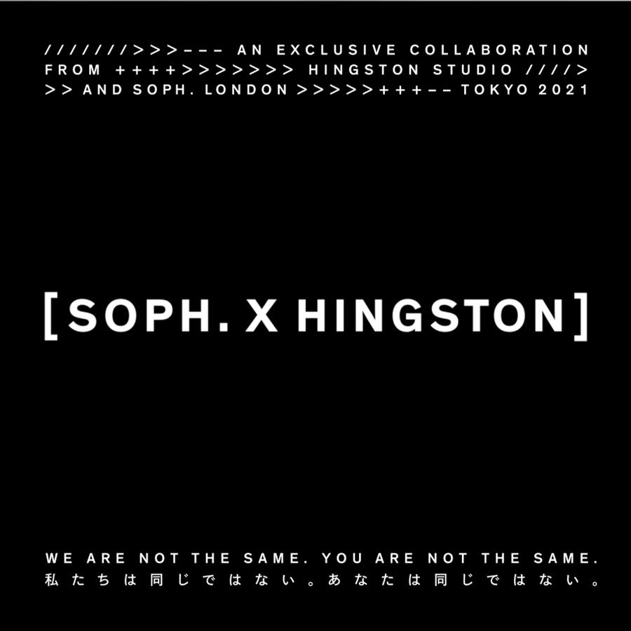 SOPH.×HINGSTON